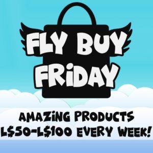 The Fly Buy Friday Logo