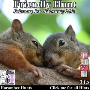 The Friendly Hunt February 2021 Logo