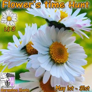 The Harambee Flowers Time Hunt May 2020 Sign