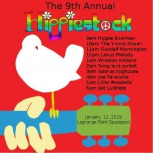 Hippiestock 9 January 2019