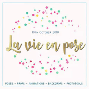 The La-Vie-en-Pose-October-2019 Sign