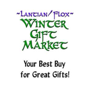 The Lantian Flox Winter Gift Market 2020 Sign