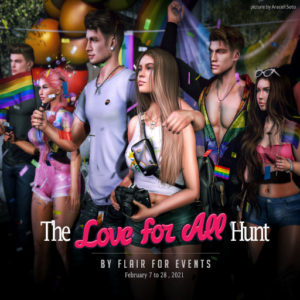 The Love for all Hunt February 2021 Logo