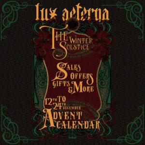 The Lux Aeterna Advent Calendar 2020 Sign