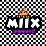 The MIIX WEEKEND Logo