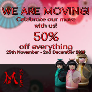 The MOEKO Store Moving Sign