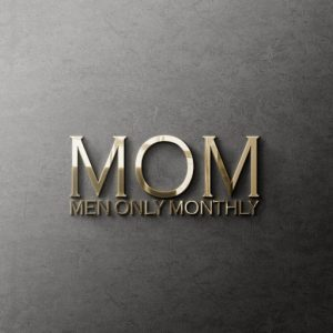 The Men Only Monthly Event Logo