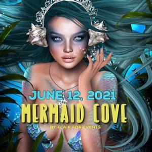 The Mermaid Cove June 2021 Sign