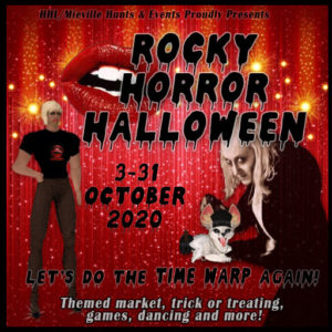 The Rocky Horror Halloween October 2020 Sign