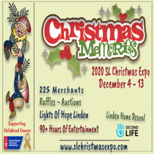 The SL Christmas Expo December 2020 Sign