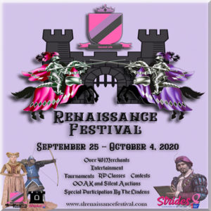 The SL Renaissance Festival October 2020 Sign