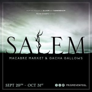 The Salem Event 2018 Sign