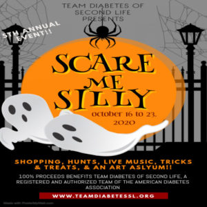 The Scare Me Silly October 2020 Sign