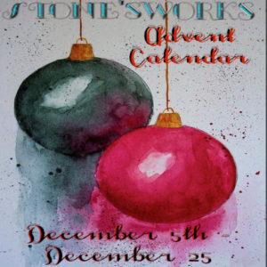 The Stone's Works ADVENT CALENDAR December 2020 Sign