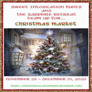 The Sweet Intoxication Hunts - Christmas Market 2020 Sign
