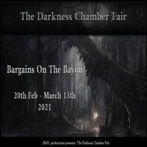 The TDCF Bargains on the Bayou February 2021 Logo