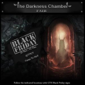 The TDCF Black Friday Sign