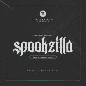 The Spookzilla 2020 Sign