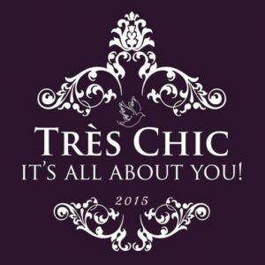 The TRES CHIC Event Logo