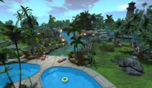 The Venue Club Landscape with Pool View