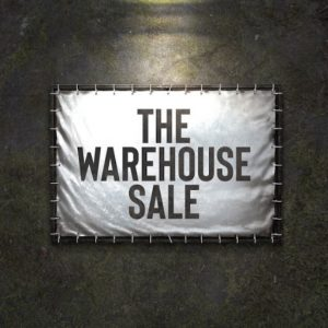 The The Warehouse Sale Logo