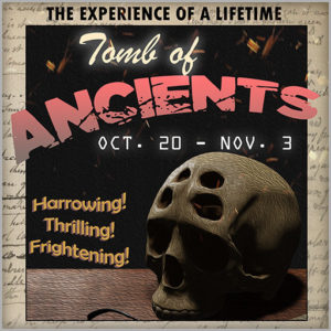 Tomb of Ancients Halloween Event October 2020