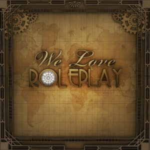 The We Love Roleplay Logo
