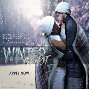 Winter Spirit 2 Apply November 2020