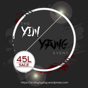 The Ying Yang 45L Sale 2020 Sign