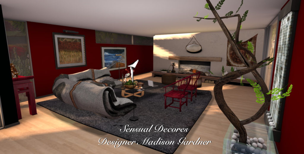 Lets mix it up with a bit of asian by Madison Gardner of Sensual Decors