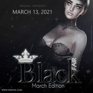 The Black Fair March 2021 Logo