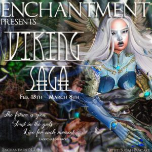 The Enchantment Viking Saga Event Logo February 2021