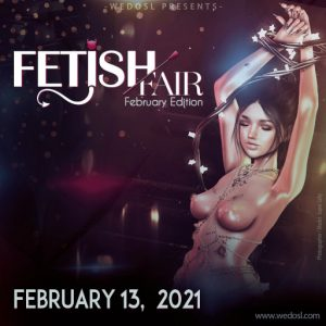 The Fetish Fair Event Logo February 2021