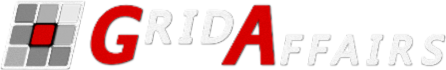 The GridAffairs Logo