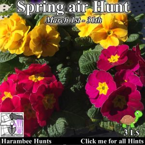 The Harambee Spring air Hunt March 2021 Logo