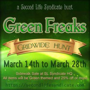 The Green Freaks Hunt Logo