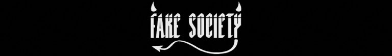 The Fake Society Store Banner