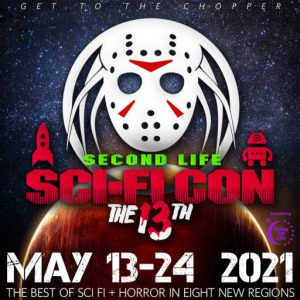 The Sci-Fi Convention May 2021 Logo