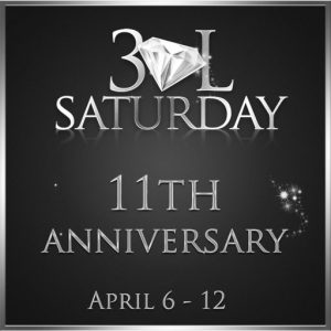 The 30LSaturday 11th Anniversary April 2021 Sign