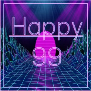 The Happy 99 Event Logo