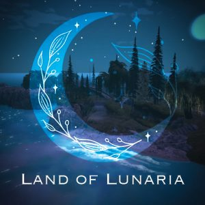 The Land of Lunaria Sign