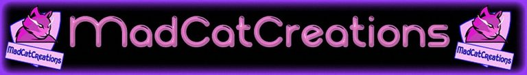 The MadCatCreations Banner