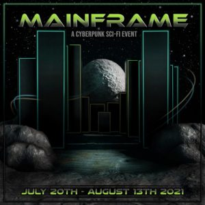 The Mainframe Event July 2021 Poster
