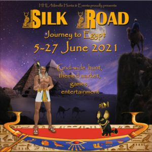 The Silk Road Journey to Egypt June 2021 Sign