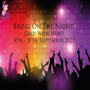 The Bring on the Night Hunt September 2021 Sign