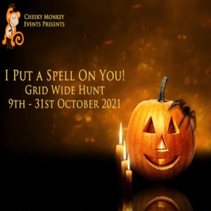 The I put a Spell on you Hunt October 2021 Sign