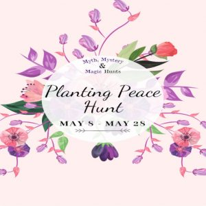 The Planting Peace Hunt May 2021 Sign