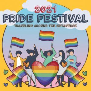 The Pride Festival June 2021 Sign