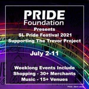 The SL Pride Festival July 2021 Sign