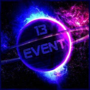 The 13 Event Logo